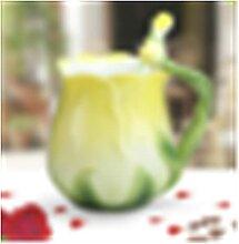 ZHANGZHI Coupe de café en céramique de style