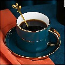 ZHANGZHI Tasse à café en Or céramique Style de