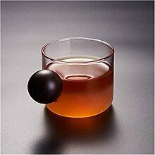 ZHANGZHI Tasse à thé en monocouche Verre