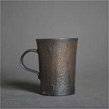 ZHANGZHI Vintage céramique tasse à café en