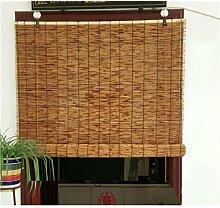 Zhaomi Rideau de Roseau Carbonisation,Store en