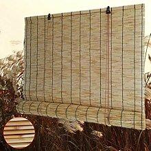 Zhaomi Rideau en Roseau Naturel,Stores en