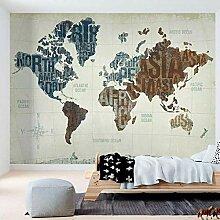 ZHEN WALLPAPER Custom Abstrait Wall Tissu Carte du