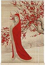 ZHENAO Pékin Opera Huadan Rideaux de Bambou À