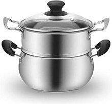 ZHGCHF Épaissi soupe en acier inoxydable Pot