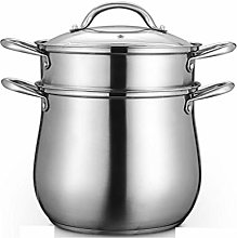 ZHGCHF Épaissie Porridge Pot de ménage en acier