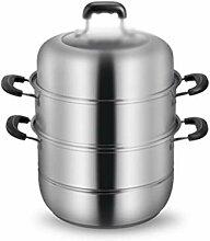 ZHGCHF Épaissie soupe en acier inoxydable Pot à