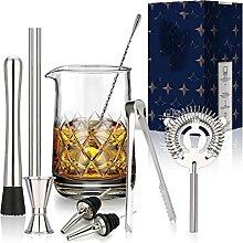ZHGYD 10 Pcs Cocktail Cocktail Mélanger En Verre