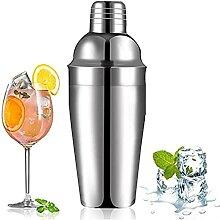 ZHGYD Shaker Cocktail en acier inoxydable Pas de