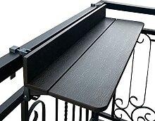 ZHIFENGLIU Table Suspendue Balcon, Cadre Aluminium
