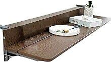 ZHIFENGLIU Table Suspendue Petite, Dessus Table