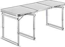 ZHIHUI Tables Pliantes Table De Camping Pliant