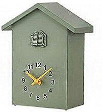 ZHIQIANG Horloge À Coucou Maison Bois Rétro