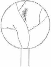 ZHISHENG Cadre rond pour plantes grimpantes -