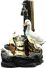 ZHOUBA Statuette de jardin en résine pour