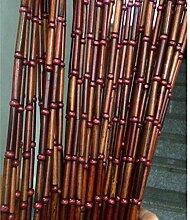 ZHOUXIAO Rideaux De Perles De Bambou De La Porte