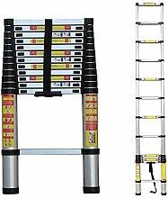 ZHPBHD Échelle télescopique 1.4m-6.2m, échelles