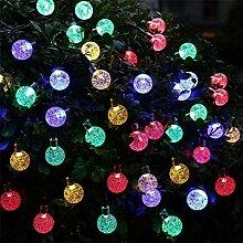 ZHQIC 20 LED lumières solaires Boule de Cristal