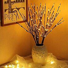 ZHQIC Décoration de Noël Branche d'arbre