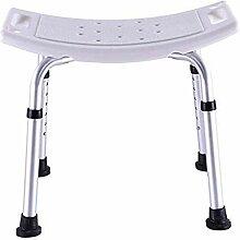 ZhuFengshop Chaise de salle de bain – Aluminium