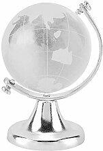 zhuolong Globe Rond Terre Carte du Monde Cristal