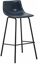 ZHXZHXMY Simple family stool Bar industriel