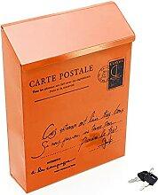 ZHYLing Boîte Postale métallique étanche