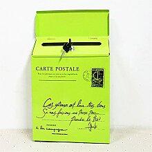 ZHYLing Serrure Fer Boite aux Lettres Vintage