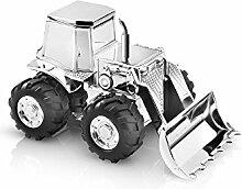 Zilverstad 6299261 Tirelire Tracteur Argenté