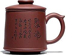 Zisha Théière Yixing Tea Cups Ore Purple Clay