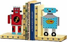ZJH Serre-Livre Bookends décoratif créatif Robot
