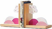 ZJH Serre-Livre Bookends Décoratif Livre Mignon