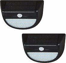 ZJING Lampe Solaire Extérieur 2 Pack, 35LED