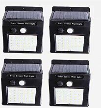 ZJING Lampe Solaire Extérieur 4 Pack, 30LED