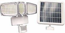 ZJING Lampe Solaire Extérieur, LED Lumiere