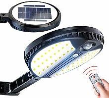 ZJING LED Lampe Solaire Extérieur 78LED 1500mah