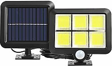 ZJING Projecteur Solaire 56LED, Lampe Solaire