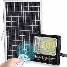 ZJING Projecteur Solaire Exterieur LED 50W,