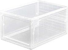 ZJJX Boîte de rangement en plastique transparent