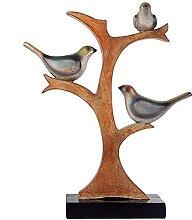 ZJJZ Ornements décoration Imitation Arbre Oiseau