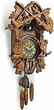 ZJWD Horloge À Coucou, Horloge De Chalet De La