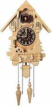 ZJWD Pendule À Coucou, Horloge De Chalet