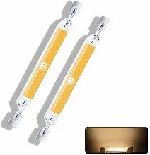 ZJYX R7S 10W 78mm Ampoule LED- COB Filament
