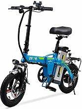 ZJZ Vélo Pliant électrique, vélo Pliant avec