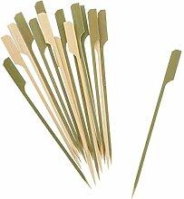 ZKDY 40 Pc Brochettes De Bambou Barbecue en Bois