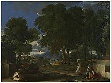 zkpzk Citon Nicolas Poussin Paysage avec Un Homme