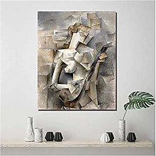 zkpzk Pablo Picasso Fille avec Une Mandoline Toile