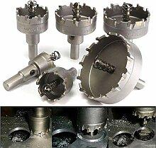 ZLININ Percez 22 à 65mm carbure Forets trou scie