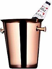 ZLININ Seaux Bar Deluxe glace en acier inoxydable