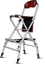 ZLQBHJ Chaise pliante en plein air, tabouret de